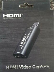HDMI to USB Video Capture Card 1080P For Game / Live Streaming Portable USB