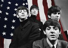 BEATLES POSTER FIRST US TOUR BANDPICTURE