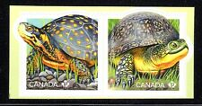 2019 Canada SC-Endangered Turtles Spotted-Blanding's-pair from booklet - M-NH