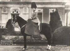 MAILED 1909 - Crown Princess Germany as Chef Dragonder Regiment horse SIDESADDLE