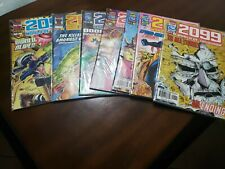 Lot of 7 2099 comic books by Marvel Comics