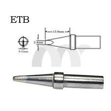 For Weller Soldering Station solder Iron Tip ETB 2.4D NEW