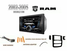 NEW 2002-2005 DODGE RAM PICKUP BLUETOOTH CD USB MP3 2 DIN CAR STEREO COMBO