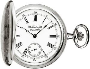 Tissot Swiss Made T-Pocket Savonnette Mechanical White Dial Pocket Watch