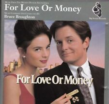 """CD """"for Love or Money"""" Original Soundtrack Album Music by Bruce Broughton 1993"""