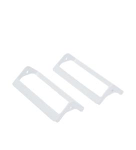 Genuine Fisher & Paykel Freezer Basket Handles (Pack of 2): 818205P