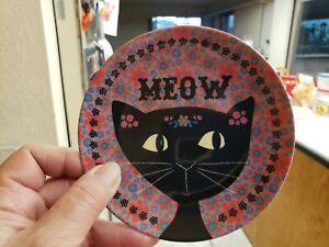Cat Meow Mini Melamine Plate Style # MPLT041