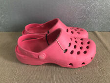 BNWT ladies Older Girls Sz 5 Rivers Doghouse Watermelon Clog Beach Shoes