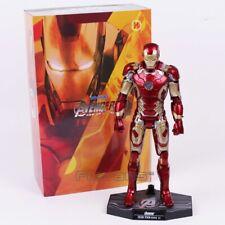 Avengers Age of Ultron Iron Man Mark MK 43 with LED Light PVC Action Figure