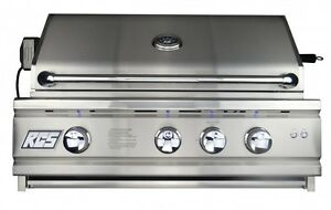 """RCS CUTLASS PRO SERIES 30"""" STAINLESS STEEL GRILL  BUILT IN RON30A LP"""