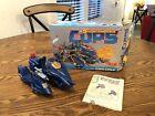 Vintage COPS N CROOKS 1988 Blue Streak COPS Cycle W/ Box & Instructions EXC CDN!