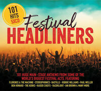 101 Festival Headliners - (Various Artists) [New & Sealed] 5 CDs