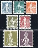 BERLIN, MiNr. 35-41, postfrisch, gepr. Schlegel, Mi. 750,-