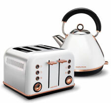 Morphy Richards COMBO102108242108 Cordless Electric Kettle and 4 Slice Toaster