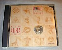 WILLIAM AURA & FRIENDS w/Paul Horn World Keeps Turning CD promo album 1989 NM/EX