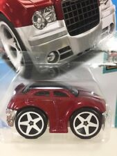 New Sealed Hot Wheels CHRYSLER 300C TOONED RED 2/5 Die Cast Car Collectible