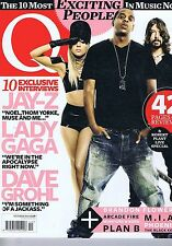JAY-Z / LADY GAGA / DAVE GROHL	Q Magazine	no.	291	Oct	2010