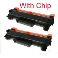 2PK TN760 NON-OEM High Yield Toner For Brother DCP-L2550 HL-L2350 TN730
