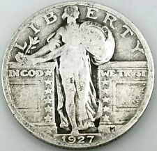 1927 Standing Liberty Quarter! Add this coin to your collection!