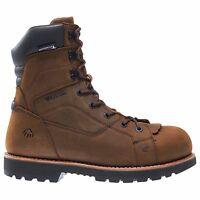 101b276f008 Wolverine W10314 Men's Cabor EPX Dark Brown Work Boot, Waterproof ...
