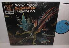 SMD 1250 Paganini 24 Caprices Ruggiero Ricci