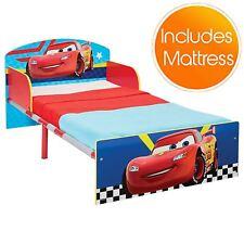 Disney Cars quatre roues lit enfant Bébé avec protectrice Panneaux Latéraux &