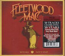 Fleedwood Mac 3 CD Set 50 Years Don't Stop 2018