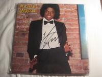 MICHAEL JACKSON Autogramm OFF THE WALL signiert LP signed AUTOGRAPH InPERSON