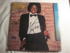 MICHAEL JACKSON Autogramm OFF THE WALL signiert LP signed AUTOGRAPH InPERSON