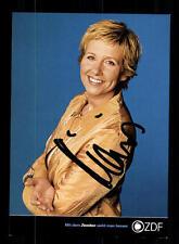 Andrea Kiewel ZDF Autogrammkarte Original Signiert # BC 93759