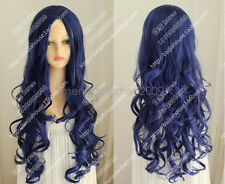 NEW cosplay Corpse Bride Tim Burton's Corpse Bride Blue curly hair wig/Wigs #g07