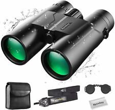 Eyeskey Compact 10X42 Binoculars for Adults Waterproof Fog-Proof Bird Watching