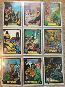 1988 Marvel Wolverine Trading Cards COMPLETE SET, 1-50- NM/M, Comic Images