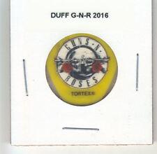 Guns N' Roses Duff McKagan Signature Yellow Guitar Pick - 2016 Gnr Lifetime Tour