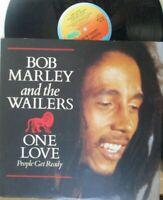 "BOB MARLEY & THE WAILERS ~ One Love ~ 12"" Single PS"