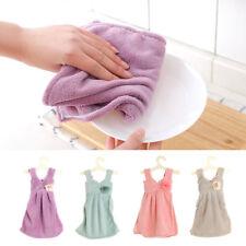 Princess Dress Hand Towel Absorbent Coral Fleece Towel Kitchen Hanging Cloth Hot