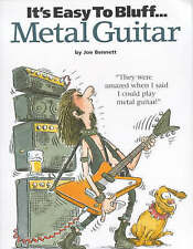 It's Easy To Bluff... Metal Guitar, New, Bennett, Joe Book