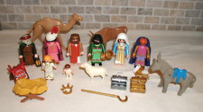 Lot of Playmobil Christmas Nativity Figures and Accessories from Set #5719