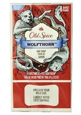 6 bar soap Old Spice Wild Collection Wolfthorn, 4 oz Discontinued HTF