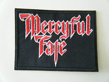MERCYFUL FATE PATCH Embroidered Iron Sew On Heavy Thrash Metal King Diamond NEW