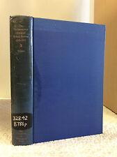 THE PARLIAMENTARY DIARY OF ROBERT BOWYER 1606-1607 By David Harris Willson, ed
