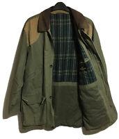 ST MICHAEL Vtg 90s Mens UK M Oversized Country Cotton Coat Jacket Autumn Hunting