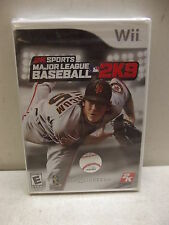 NINTENDO WII MAJOR LEAGUE BASEBALL 2K9 FACTORY SEALED