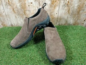Merrell dual density mens suede brown shoes size 11 UK 46 EUR