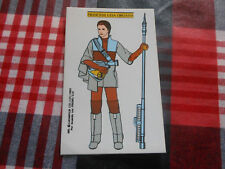 LEIA STICKER VINTAGE 1983 STAR WARS EL RETORNO DE JEDI PROMO VIP SPAIN SPANISH