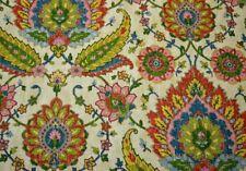 Multicolored Damask Floral Print Izmir Sherbert Covington Fabric
