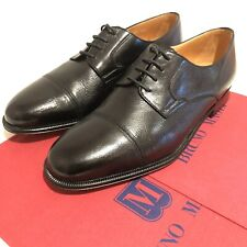 New Bruno Magli mens black leather lace up Oxford shoes UK8.5, EU 42.5,US 9.5