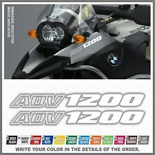 2x R1200 GS Adventure White BMW Motorrad LC ADESIVI PEGATINA AUTOCOLLANT