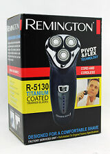 Remington R-5130 Pivot Flex Titanium Mens Rotary Beard Shaver (Factory Serviced)