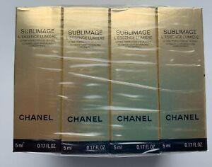 Chanel Sublimage L'ESSENCE LUMIERE set 12 x 5 ml (60 ml) MINIATURE VIP GIFT